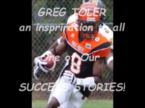 From Semi Pro to College to NFL