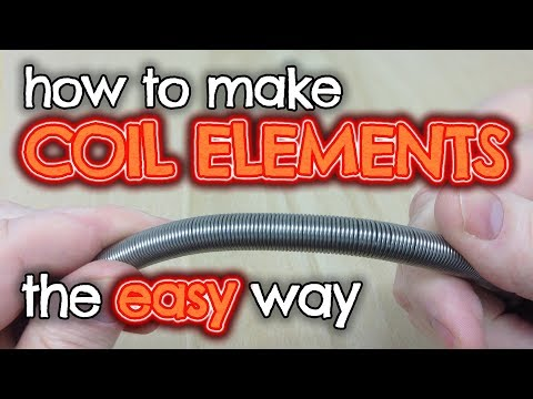 Make an EASY coil heating element winding Jig - by VegOilGuy