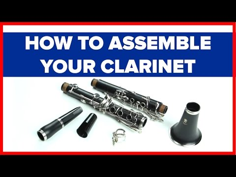 How to Assemble a Clarinet and Clarinet Mouthpiece