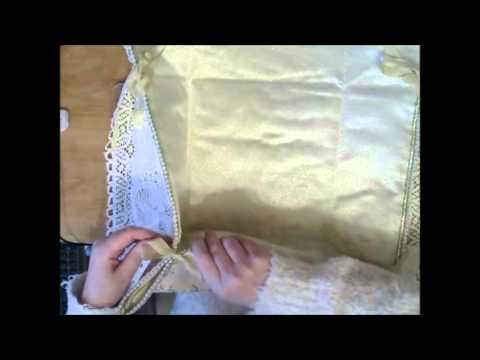Fabric Bread Roll Holder