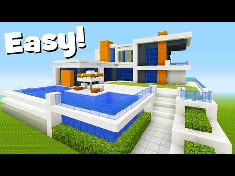 Minecraft Tutorial: How To Make A Modern Mansion #5