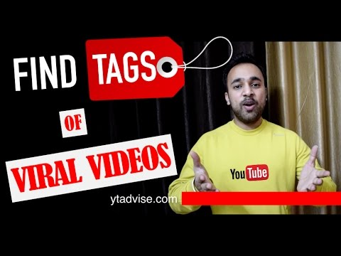 Find TAGS of Viral Videos to Grow a Successful YouTube Channel - YTAdvise