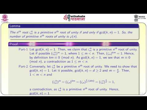 nth roots of unity (MATH)
