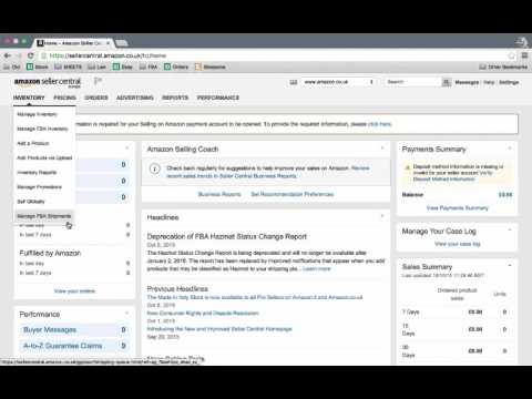 How to set up a UK Amazon seller account - Tutorial