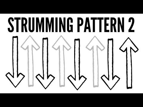 Strumming Pattern 2 ~ Ukulele School: Learn How To Strum!