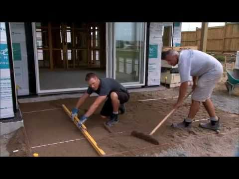 Firth Industries - How to lay pavers