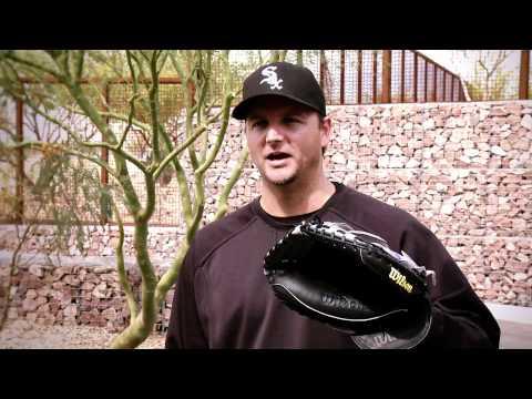 AJ Pierzynski and His Wilson A2000 Catcher's Mitt