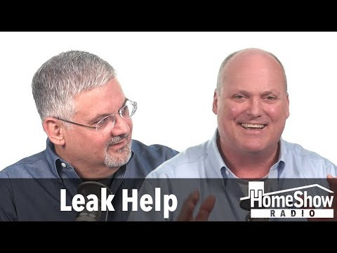 How do I fix water leaks coming through my foundation?