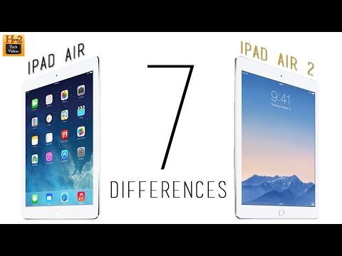 7 Differences Between the iPad Air 1 & iPad Air 2​​​ | H2TechVideos​​​