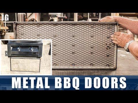 Metal BBQ Doors  | JIMBOS GARAGE