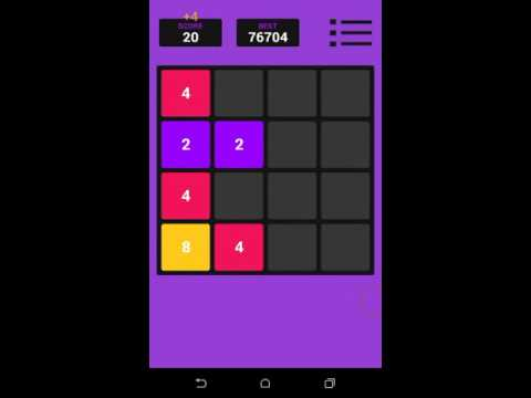 Tricks to get high score in 2048 game