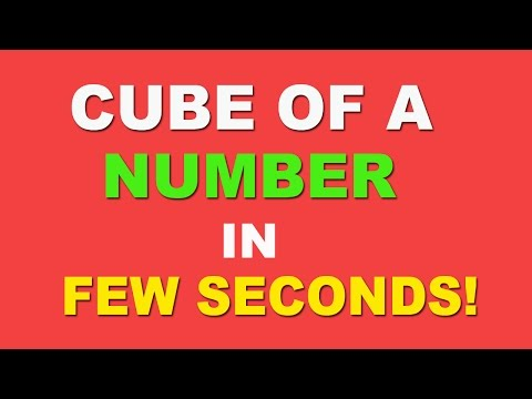 Cube of Any Number Trick - Hindi (2016)