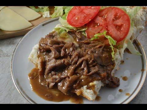 Lazy Roast Beef Po' Boy - Brown Gravy Recipe