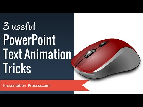 Learn 3 Useful PowerPoint Text Animation Tricks - Easily