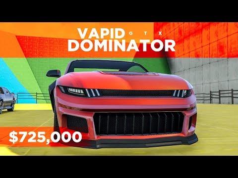 MUSTANG/CHARGER COMBO! - Vapid Dominator GTX in GTA Online