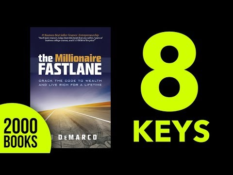 Millionaire Fastlane Summary MJ Demarco - get the Millionaire Fastlane PDF summary in the link below