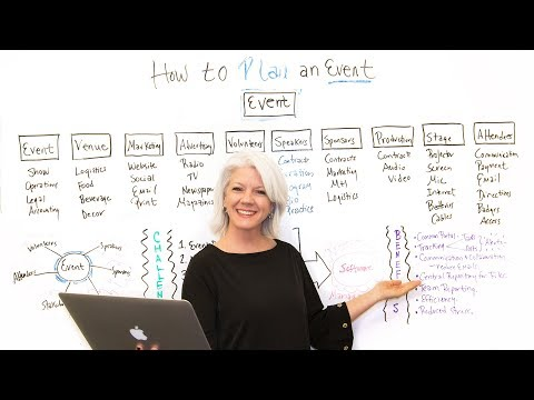 How to Plan an Event - Project Management Training