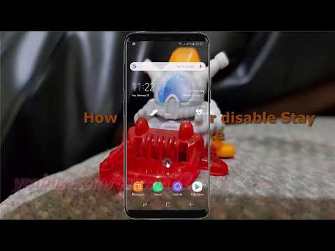 Android Nougat : How to Enable or disable Stay awake in Samsung Galaxy S8 or S8+
