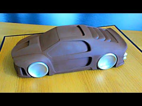 Making A Clay Car Model  3