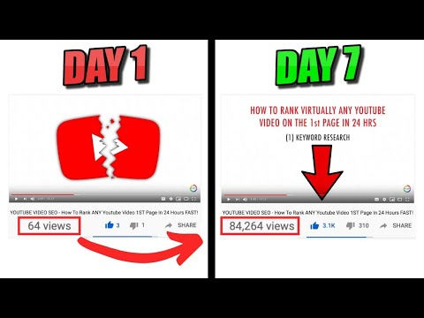 Youtube Video Ranking - Rank On The FIRST PAGE of Youtube In LESS THAN 24 HOURS