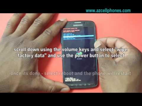 Samsung Galaxy S4 Active - Hard Reset