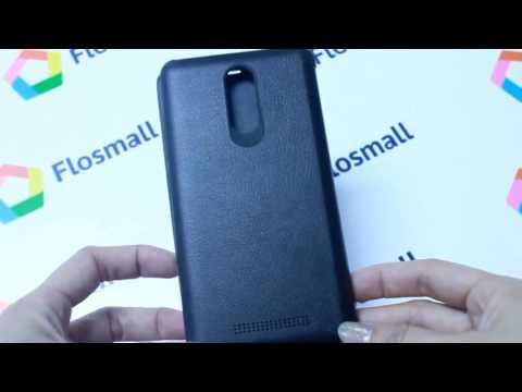 Чехол на Xiaomi Redmi Note 3 кожаный smart cover