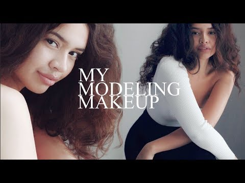 GET READY WITH ME- MODELING EDITION! (MY MODELING MAKEUP, HD/PHOTO READY FACE)