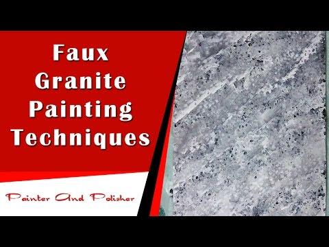 Faux Granite Painting Techniques