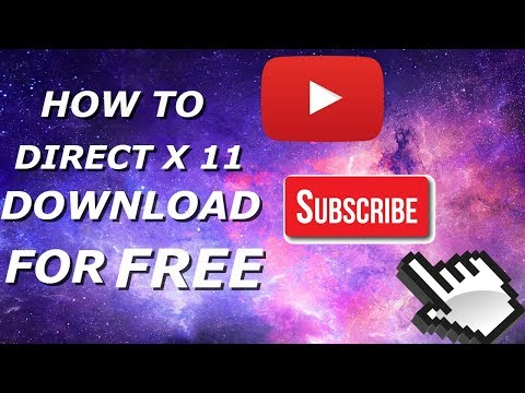 Directx 11 : How To Download & Install Latest DirectX Windows Xp,7, and Windows 10 by PRO GAMER