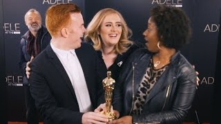 Watch Adele Adorably Photobomb Fans: Their Reactions are AMAZING