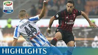 Milan - Pescara - 1-0 - Highlights - Giornata 11 - Serie A TIM 2016/17