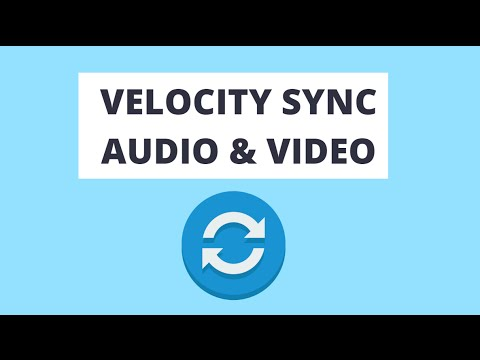 How to Syncronize Video and Audio Using Velocity in Vegas Pro