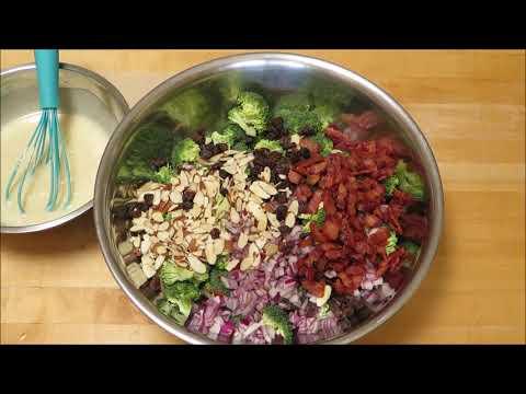 Broccoli Salad Recipe Featuring BACON!!!