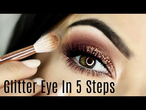 Glitter Smokey Eye Tutorial | 5 Steps | TheMakeupChair