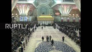LIVE: Former Iranian president Rafsanjani's funeral takes place in Tehran