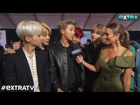 BTS Hits the Red Carpet at the AMAs