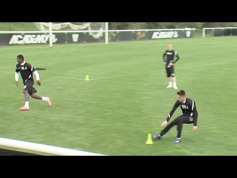 How to run faster and boost endurance | Soccer training drill | Nike Academy