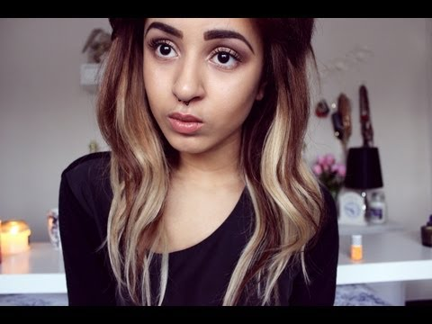 HOW TO   create ombre hair with extensions (without dying your real hair!)