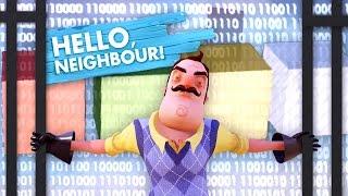 SECRET HIDDEN CODE ROOM!!! HUNTING FOR [REDACTED] (Hello Neighbor Secrets / Hello Neighbor Alpha 4)
