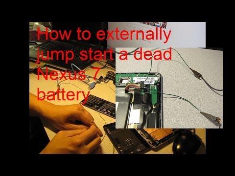 Externally Jump Start Your Dead Nexus 7 - Final solution when all else fails!