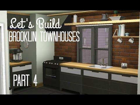 Sims 3 Lets Build - Brooklin Town Houses - Part 4