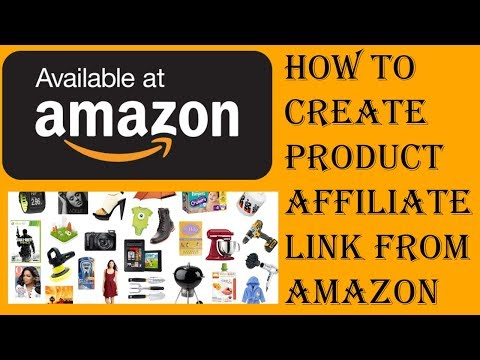 How to create product affiliate link from amazon in Hindi