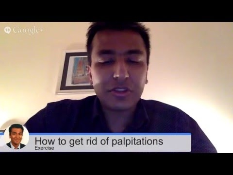How to get rid of your palpitations naturally : exercise