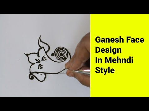 Ganpati Art In Mehndi Style Tutorial | Mehendi | Viral Lifestyle