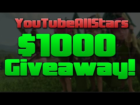 Clash of Clans - GIVEAWAY $1,000 In Free Gift Cards & Many Winners!