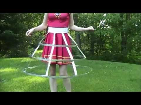 Cosplay Progress - Duct Tape and Steel Hoop Skirt