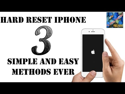 Hard Reset I Phone, How to Hard Reset iPhone to Factory Settings