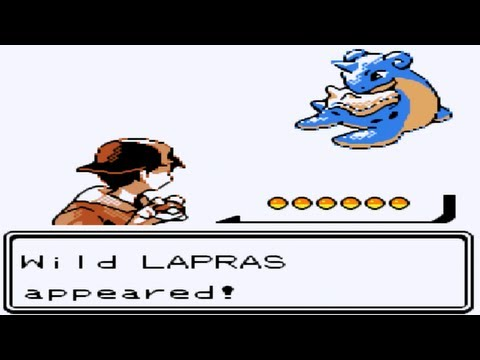 Pokemon Silver Part 19 - Catching Lapras