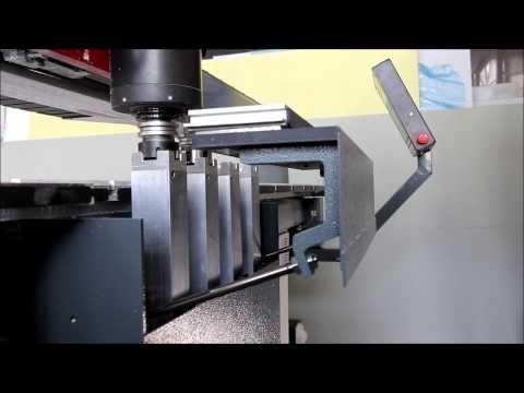 Cutting of aluminum composite panels
