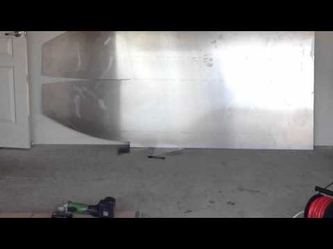 Jet dinghy build and test